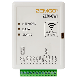 2.4 GHZ Wi-Fi Smart Door Controller for Access control ZEM-CWI