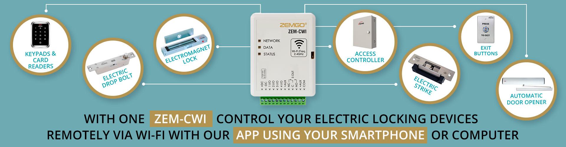 wifi smart controller zem-cwi